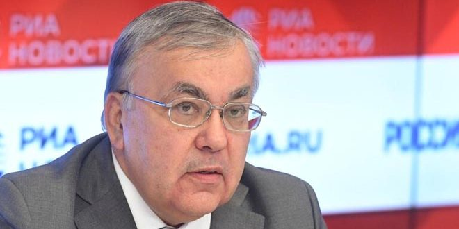 Moscow to continue supporting Syria in combating Coronavirus