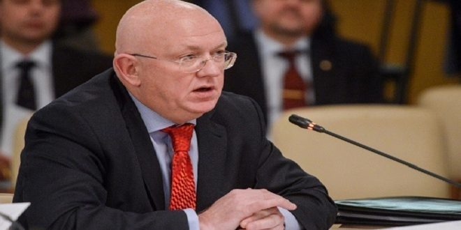 Nebenzia slams exploitation of aid delivery mechanism in Syria by some states
