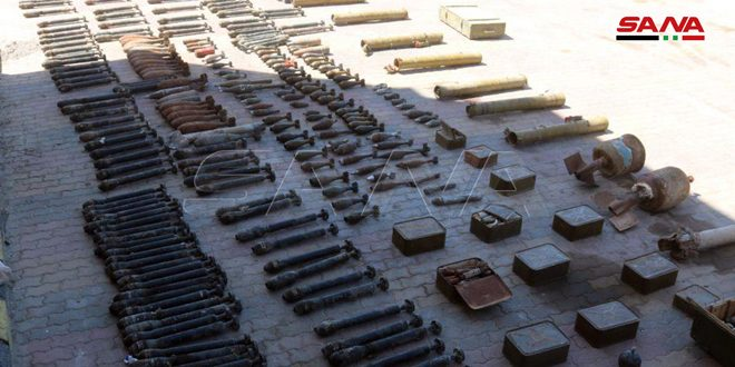 Ammo and communication devices left behind by terrorists found in Deir Ezzor countryside