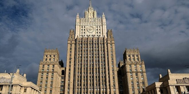 Russian Foreign Ministry criticizes agreement between QSD militia and US oil company as flagrant violation of international law and Syria's sovereignty