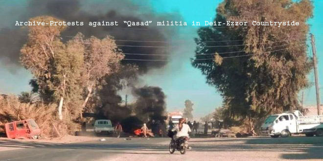 Qasad militia kidnaps 9 civilians from Sweidan Jazeera town in Deir Ezzor countryside