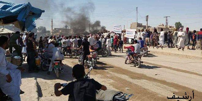 QSD militia kidnaps dozens of civilians from al-Mansoura town in Raqqa countryside