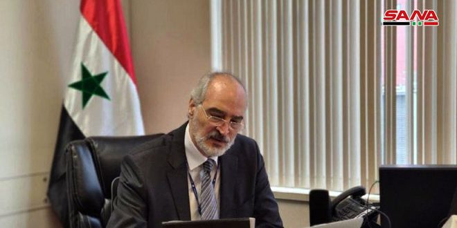 Al-Jaafari: Syria calls on Security Council to adopt a draft resolution obliging certain countries to bring back their terrorists