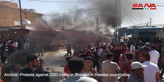 Five Civilians martyred in an infighting among terrorists in Ras al-Ayn, Hasaka