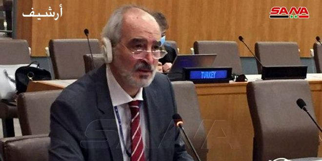 Al-Jaafari: Golan is a Syrian territory that we struggle to restore completely