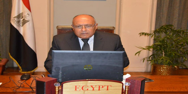 Egypt affirms its rejection of the Turkish occupation of parts of the Syrian territory