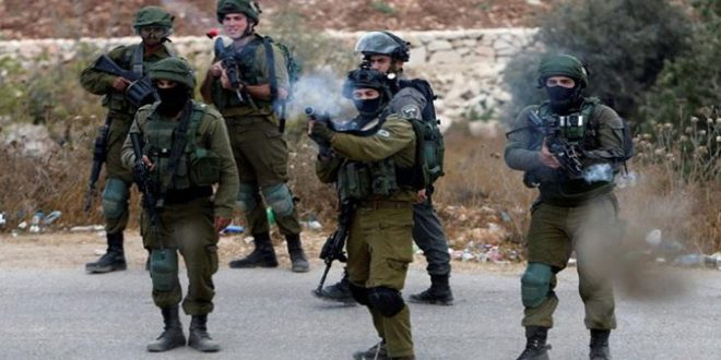 Three Palestinians injure by the Israeli occupation bullets in Jenin