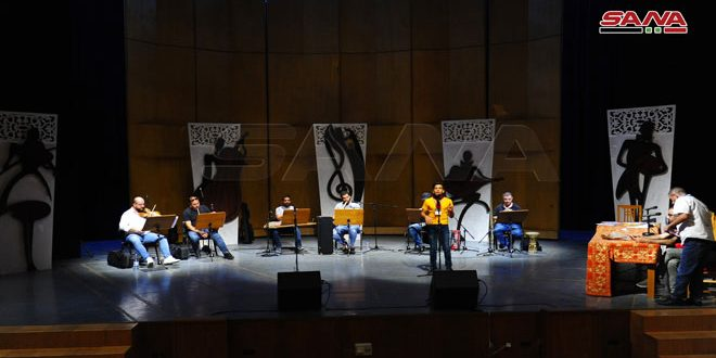 Opera House recieves promising talented children within fourth round of Syrian Child's Song festival