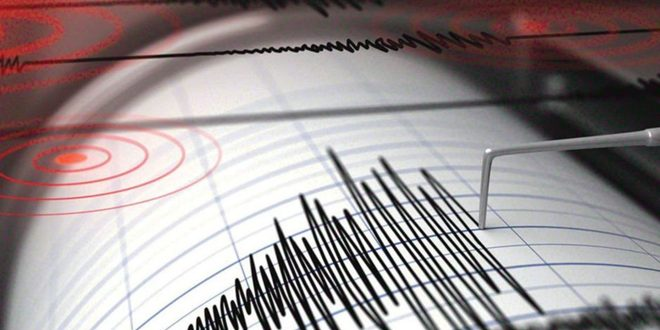 4.1 magnitude earthquake registered in northeast of Damascus
