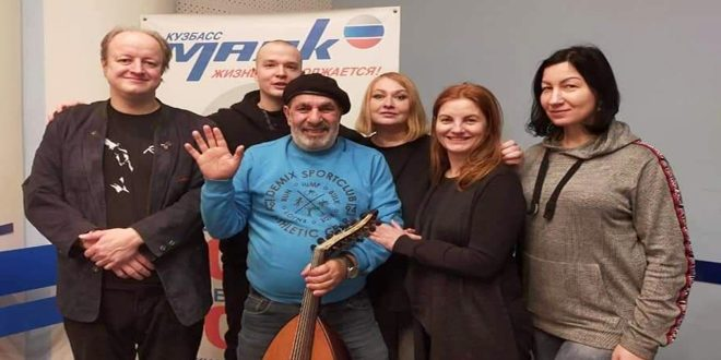 Syrian expatriate conveys his homeland image with his music to Russian cities