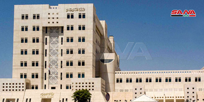 Foreign Ministry: Syria strongly condemns US and Western blatant interference in Federal Russia's internal affairs