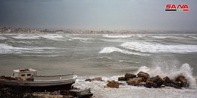 Tartous and Lattakia Ports  closed due to bad weather