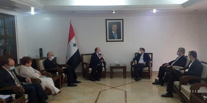 Syrian-Iranian talks to enhance joint scientific cooperation