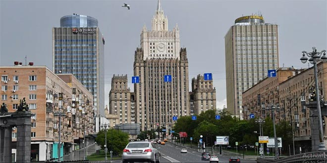 Moscow supports Syria's sovereignty and territorial integrity