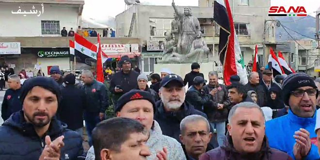 Citizens in occupied Syrian Golan renews rejection of occupation plan to build wind turbines on their lands