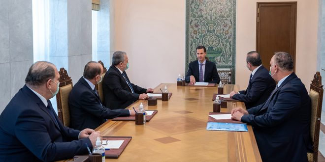 President al-Assad discusses executive mechanisms for implementing the consumer protection law