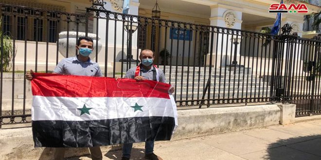 Syrian community in Cuba: Unilateral Western measures on Syria represent economic terrorism
