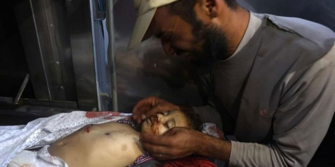 21 martyrs in Israeli aggression on the Gaza Strip, dozens wounded