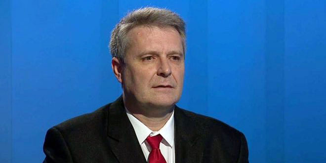 Grospic calls for standing by Syria in the face of unilateral coercive measures