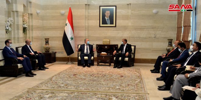 Syria, Iraq to enhance land transport,commercial exchange of industrial products