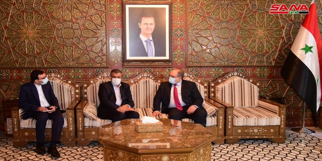My visit to Damascus aims to enhance bilateral economic relations, Iranian Minister of Roads Eslami says