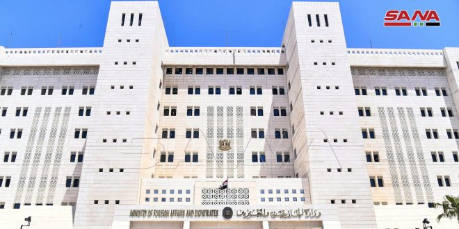 Foreign Ministry: Attempts of fabricating chemical scenario in Idleb won't affect Syria's stance in combating terrorism