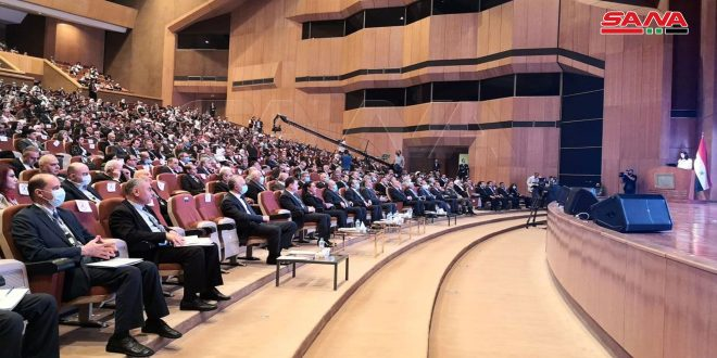 Administrative Reform Conference starts activities with attendance of Prime Minister Arnous