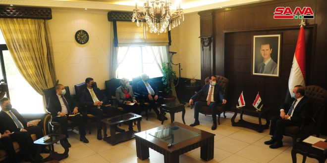 Syrian-Iraqi talks on activating joint action in environment field
