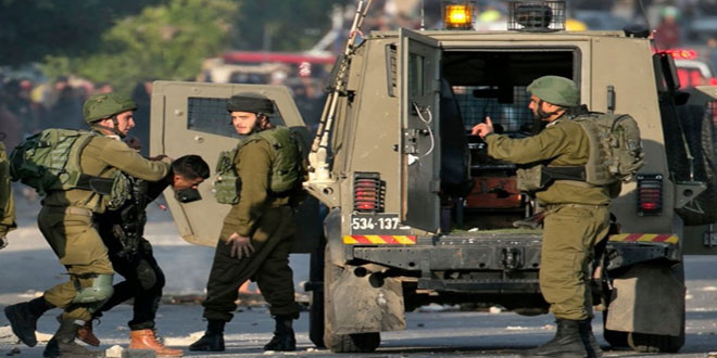 Update- occupation forces arrest nine Palestinians in the West Bank
