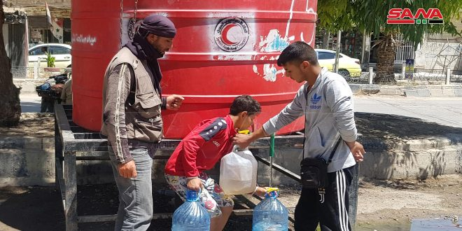 Suffering  of Hasaka citizens continue as  Turkish occupier still cut off water