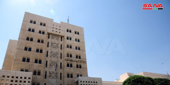 Foreign Ministry: Syria condemns campaigns of provocation and hypocrisy of Britain  and EU regarding the situation in Daraa