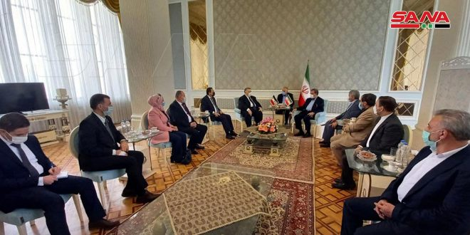 Sabbagh, Rezaei stress Syrian-Iranian deep-rooted strategic relations