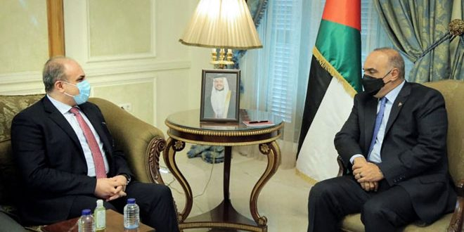 Jordanian Prime Minister affirms importance of enhancing cooperation with Syria