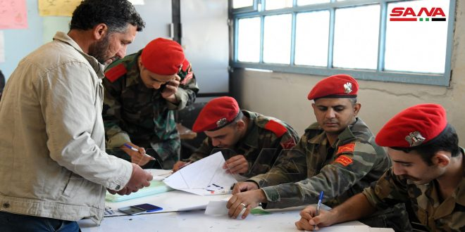 Tens of militants, wanted persons have their cases settled in a number of al-Yarmouk basin regions in Daraa countryside