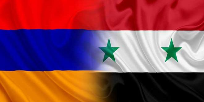 On 30th anniversary of Armenia's independence… Armenian-Syrian relations based on mutual respect