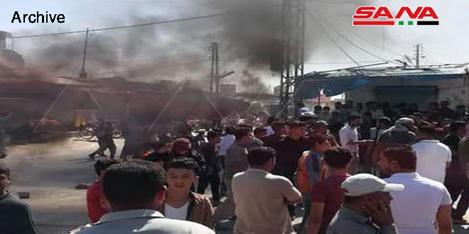 QSD militia besieges residential areas in Hasaka, kidnaps number of civilians