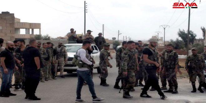 Army starts combing operations in al-Jiza, Daraa countryside