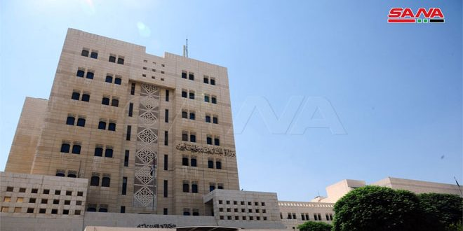 Foreign Ministry: terrorist bombing will not affect Syria stance on combating terrorism