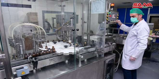 Tamiko production value of medicines exceeds SYP 12 billion