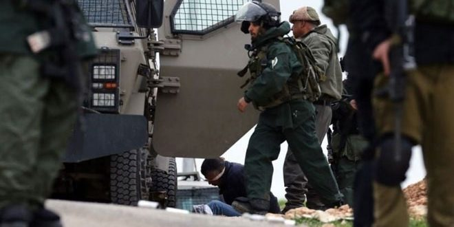 Israeli occupation forces arrest six Palestinians in Bethlehem
