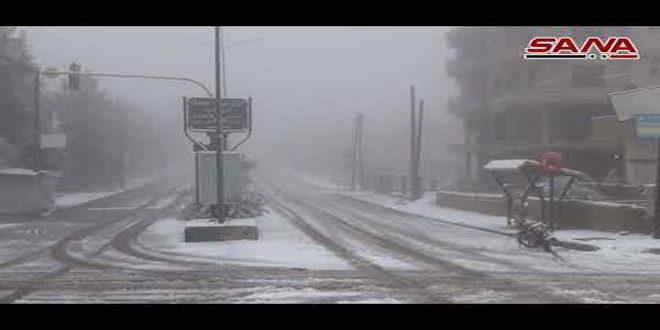 Nieve en Swaida