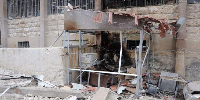 Daños materiales en Roken Eldin causados por ataques terroristas