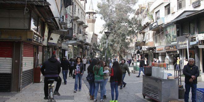 A pesar de los ataques terroristas la vida sigue su curso en Damasco