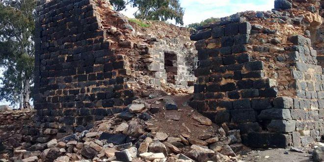El molino histórico en al Mezerib se desploma ante la negativa de los terroristas reformarlo