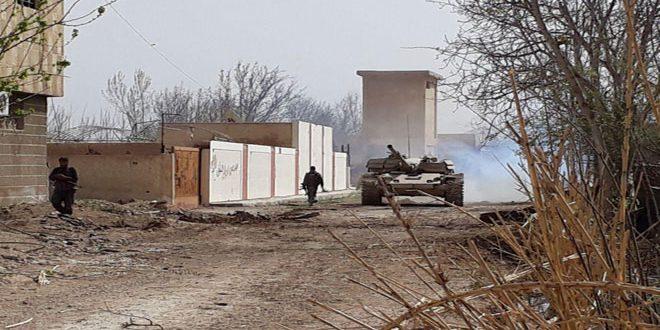 Imágenes muestran cómo el Ejército Sirio tomó el control del valle de Ein Tarma