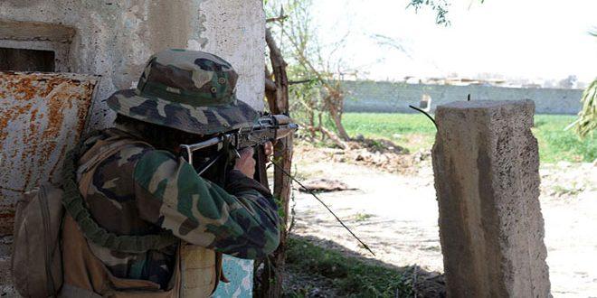 Ejército logra nuevos avances en Ein Tarma y suministra ayuda a los pobladores de Kafar Batna y Saqba