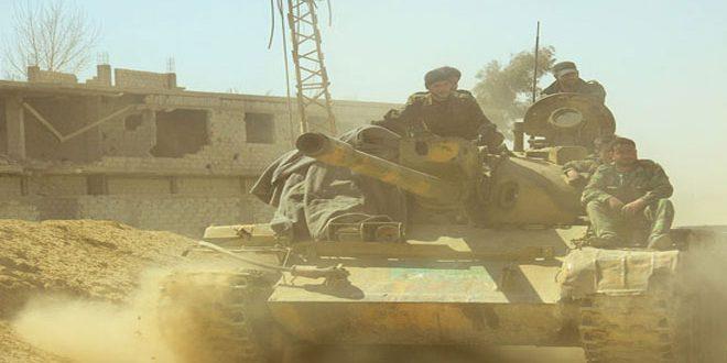 El ejército continúa sus operativos antiterroristas en Harasta, Hazze, Zemelka y Erbin