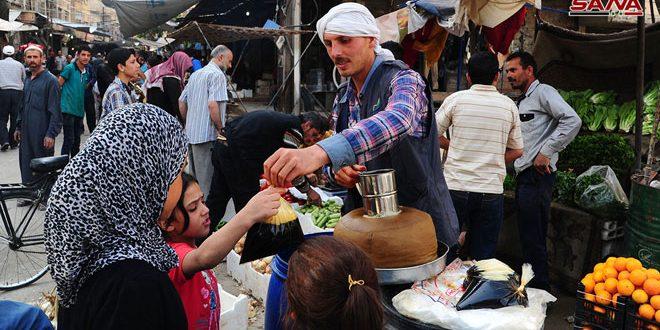Vecinos de Guta oriental viven el ambiente de Ramadán
