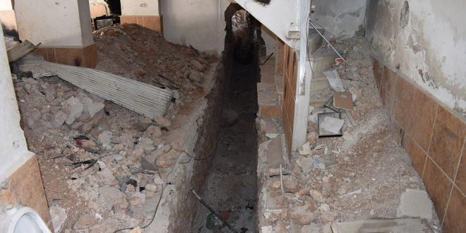 En fotos: Ejército halla red de túneles y centros de terroristas en el campamento de Yarmouk