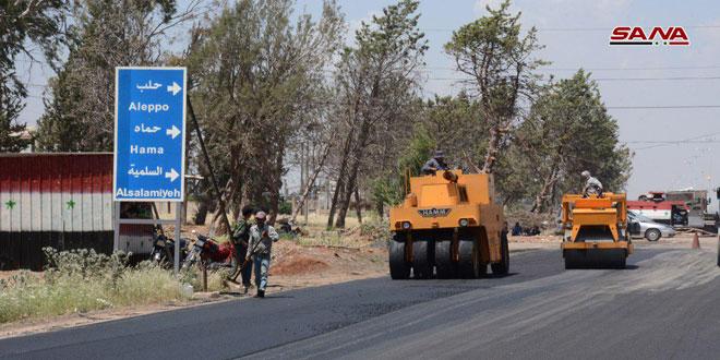 Autovía Homs-Hama en servicio dentro de unas pocas semanas